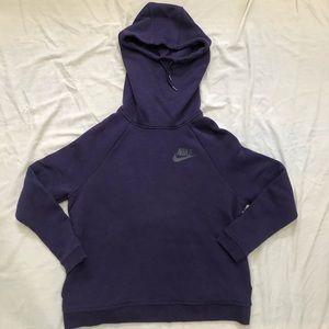 Women's Nike Rally Sportswear Hoodie Purple Large